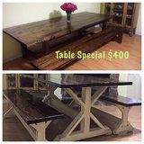 Custom Farm Table in Conroe, Texas