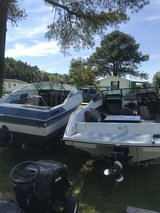 2 project boats and trailers in Camp Lejeune, North Carolina