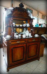 many antique decorations in Spangdahlem, Germany