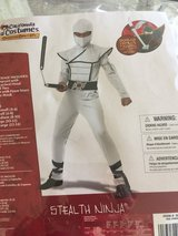 Child White Steatlh Ninja costume and Ninja Nunchucks in Travis AFB, California