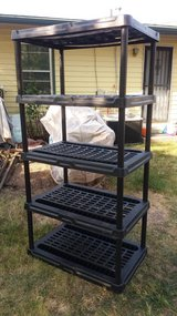 """Black adjustable stand 36x24"""" 71"""" tall in Fort Riley, Kansas"""
