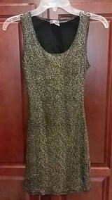 size small fitted stretchy black & white dress in Perry, Georgia