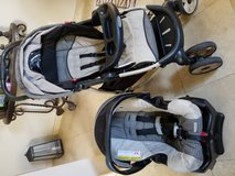 4 piece car seat and stroller combo in Camp Pendleton, California