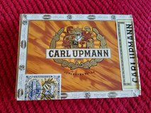 Vintage Carl Upmann wooden cigar box in Bolingbrook, Illinois