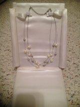 Pearl & Silver Waterfall Necklace in Camp Lejeune, North Carolina