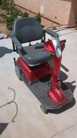 Rascal 600 3-Wheel Scooter +Carrier in Yucca Valley, California