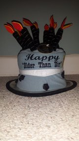 """New with Tags!  """"Older Than Dirt"""" Birthday Hat (only 1 left) in Bolingbrook, Illinois"""