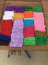 128 crocheted headbands in Yucca Valley, California
