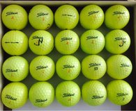 20 Titleist DT Truesoft and DT Solo Yellow golf balls near mint condition n in Aurora, Illinois
