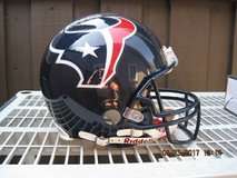 (NEW) Riddell On Field Authentic Pro Line Houston Texans Helmet in Travis AFB, California
