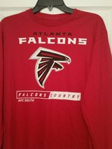 "New ""Falcons Long-Sleeve Shirt"" NFL in Fort Benning, Georgia"