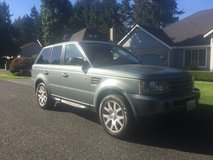 2007 range Rover HSE AWD in Tacoma, Washington