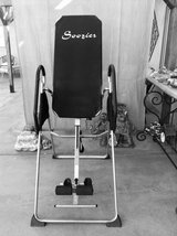 Incline back stretcher-inversion table in Yucca Valley, California