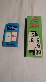 Flash Cards - Multiplication - Numbers - 4+ age in St. Charles, Illinois