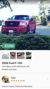 2006 Ford F-150 in Tacoma, Washington