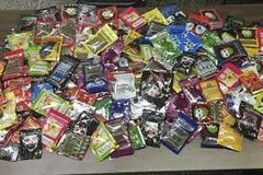 Brain freeze,grapa ape,bizarro,scooby snax,black diamond,get real herbal incense aromatic potpourri in Pearland, Texas