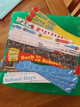 School Theme Adhesive Borders, Storage Box and Stickers in Ramstein, Germany