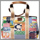 Coach Hamptons Weekend Patchwork Tote Bag in Stuttgart, GE