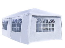 20 x 10 White Tent for Outdoor Picnic Party or Storage – Alekoproducts.com in Tacoma, Washington
