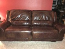 Jayron leather reclining set by Ashley NEED GONE ASAP in Fairfax, Virginia