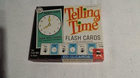 Vintage - 1963 - Telling Time Cards in Westmont, Illinois