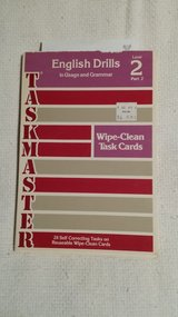 1976 - Taskmaster - wipe clean task cards - (no box) in Westmont, Illinois