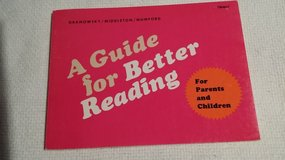 1977 - Vintage - A Guide for Better Reading - in Westmont, Illinois