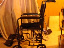 transport wheel chair with cushion for small adult/kid size in Alamogordo, New Mexico