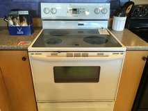 Maytag White Smooth Top Range - USED in Fort Lewis, Washington