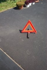 ROAD TRIANGLES FOR YOUR SAFETY. in Naperville, Illinois