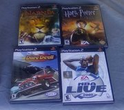 4 PlayStation 2 Games in Alamogordo, New Mexico