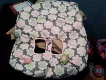 Carter's Reversible Shopping Cart or Restaurant highchair Cover w toys!! in Fort Campbell, Kentucky