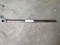 "1/2"" Torque Wrench - 22 1/2""L by Cornwell  Up to 150 lbs. in St. Charles, Illinois"