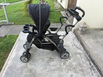 Sit and Stand Stroller in Okinawa, Japan