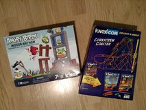 Knex Corkscrew Coaster & Angry Birds Mission May'Ham in Naperville, Illinois