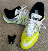 NIKE RIVAL S TRACK SHOES SZ 9.5 WITH SPIKES in Chicago, Illinois