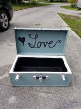 Old Trunk made into Event Cooler in Camp Lejeune, North Carolina