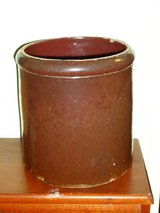 "antique 8""H brown crock in Chicago, Illinois"