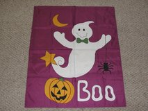 """NEW OUT OF PACKAGE HALLOWEEN """"BOO"""" GHOST OUTDOOR INDOOR FLAG in Camp Lejeune, North Carolina"""