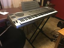 Good Casio Keyboard with stand in Travis AFB, California