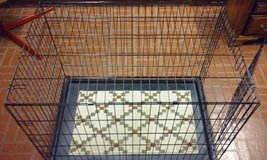 Folding Dog Cage Large Size 42L x 28W x 30H Like New in Bartlett, Illinois