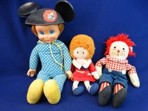 Annie & Mrs. Beasley & Andy Doll in Pearland, Texas