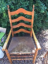Solid maple chairs in Alamogordo, New Mexico