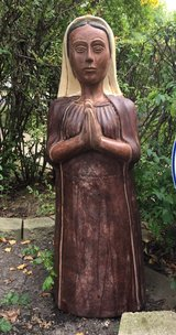 : )4 FOOT Beautiful Yard Statue >mexican art in Naperville, Illinois