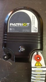 Patriot P10 dual 110v or electric fence charger covers 100 acres in Yucca Valley, California