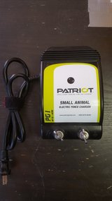 Patriot Pg1 small animal electric fence charger. 1 acre in Yucca Valley, California