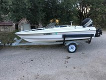 1985 Bayliner Bassboat 14ft 65 Outboard Merc in Alamogordo, New Mexico