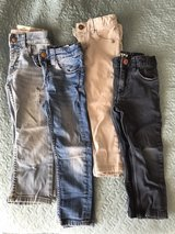 toddler boys 2T-4T H&M, and Levi pants in Okinawa, Japan