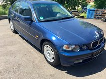 BMW 316 ti  Model 2004  Brandnew Inspection in Ansbach, Germany