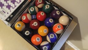 Billiard Balls in Oswego, Illinois